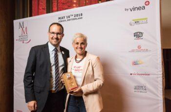 Mondial du Merlots 2018 organisé par Vinea au Widder hôtel de Zurich. Images de la cérémonie de remise des prix et dégustations.